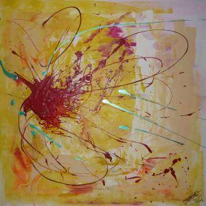 Abstrakt Technik: Acryl